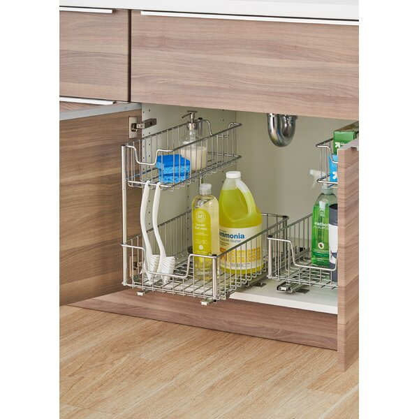 Rebrilliant Sliding Undersink Organizer & Reviews by Rebrilliant