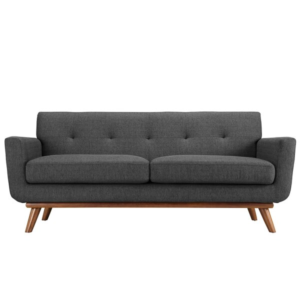 Best #1 Johnston Tufted Loveseat By Langley Street Purchase