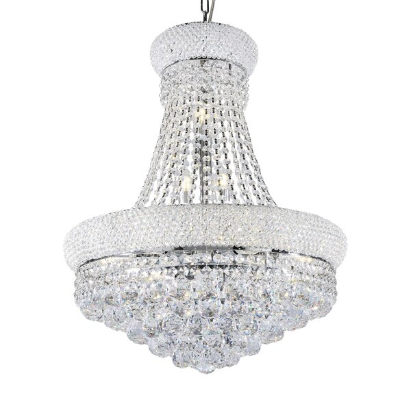 Sweeney 12 - Light Unique / Statement Empire Chandelier With Crystal Accents By House Of Hampton
