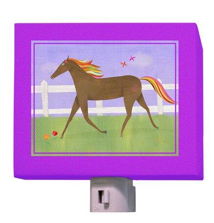 Graceful Gallop Night Light by Oopsy Daisy