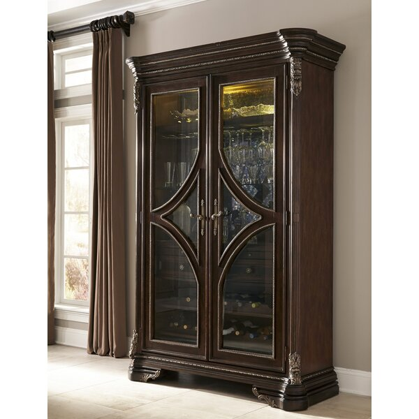 Hepburn Wine Cabinet by Astoria Grand