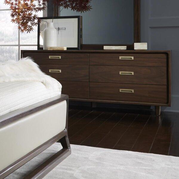 Arlo 6 Drawer Double Dresser by Corrigan Studio