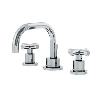 Dia Low Spout Widespread Standard Bathroom Faucet Double Cross Handle