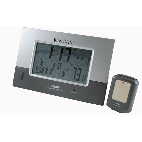 Weather Station Clock by Kincaid Clocks
