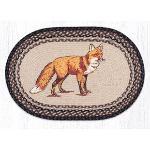 Fox Printed Area Rug