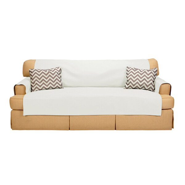 Sofabulous T-Cushion Sofa Slipcover by Messy Marvin
