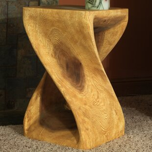 Jonathan Twist End Table By World Menagerie
