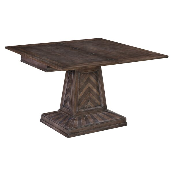 Havenhurst Flip Top Solid Wood Dining Table by Sarreid Ltd