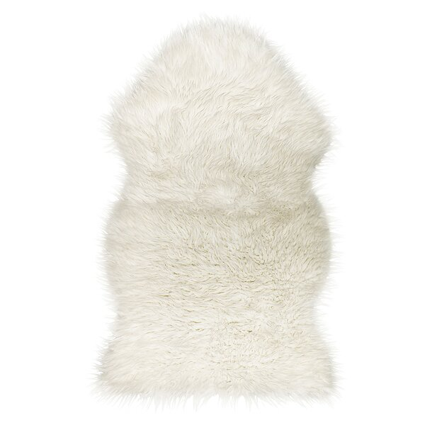 Shayne Off-White Area Rug by Union Rustic