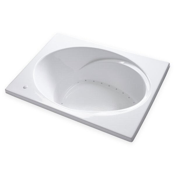 Hygienic Air Massage 60 x 42 Bathtub by Carver Tubs