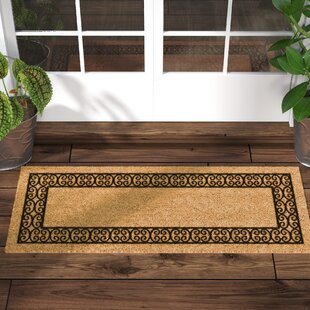 Frances Charleston Border Double Door Doormat & Door Mats Youu0027ll Love | Wayfair
