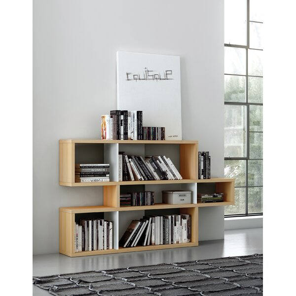 Twomey Composition Geometric Bookcase By Latitude Run