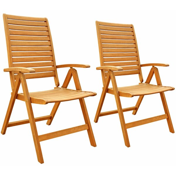 Kora Patio Armchair (Set of 2) by Breakwater Bay
