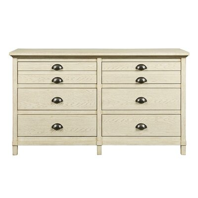 Drawer Double Dresser Oak