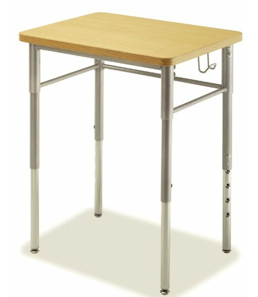 Wood Adjustable Height Collaborative Desk (Set of 2) by Alumni Classroom Furniture