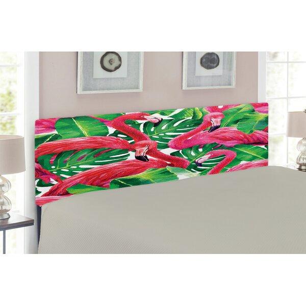 Flamingo Upholstered Panel Headboard by East Urban Home East Urban Home