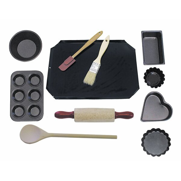 Junior Bake 11 Piece Bakeware Set by R & M International Corp.