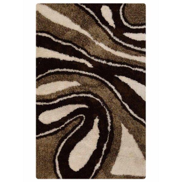 Vest Hand-Tufted Brown/Beige Area Rug by Latitude Run
