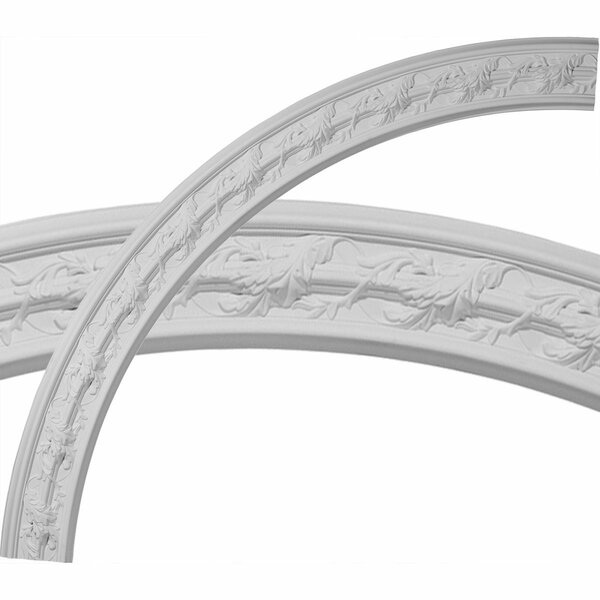 Southampton Acanthus Leaf 66 3/4H x 66 3/4W x 4 3/8D Ceiling Ring by Ekena Millwork