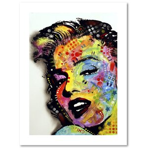 Marilyn Monroe II by Dean Russo Painting Print on Archival Paper by Trademark Fine Art