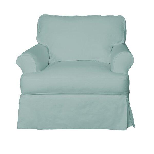 Coral Gables Box Cushion Armchair Slipcover by Beachcrest Home