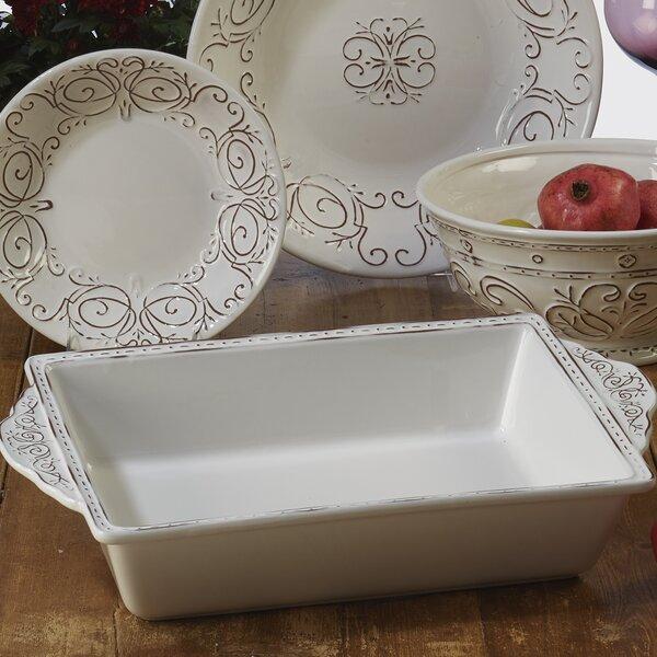 Lazo Rectangular Baking Dish by Ophelia & Co.