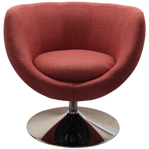 Swivel Barrel Chair by Wade Logan
