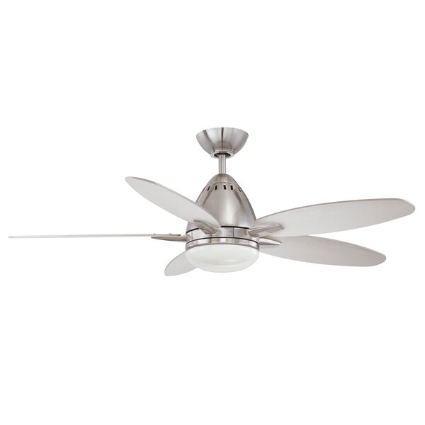 44 Navaton 5-Blade Ceiling Fan with Wall Remote by Kendal Lighting