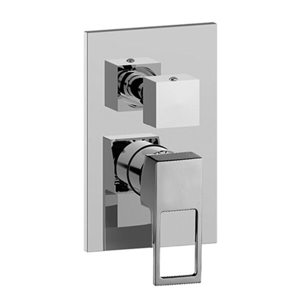 Elle Concealed Three Outlet Diverter Shower Faucet Trim by WS Bath Collections