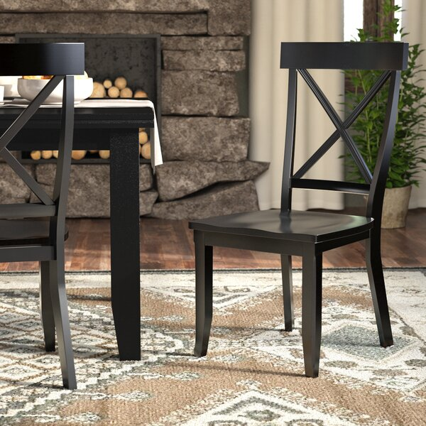 Standridge Solid Wood Dining Chair (Set of 2) by August Grove