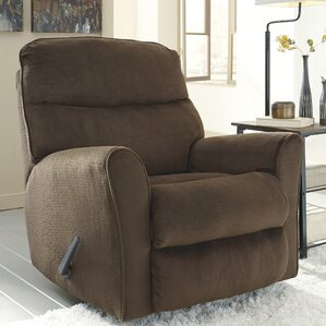 Savas Manual Rocker Recliner by Red Ba..