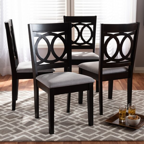 Bothell Solid Wood Dining Chair (Set of 4) by Canora Grey