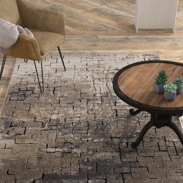 Claudia Taupe Area Rug by Williston Forge