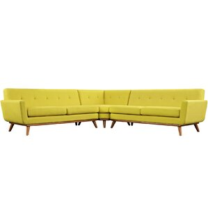 Saginaw Sectional  sc 1 st  Wayfair : yellow sectional - Sectionals, Sofas & Couches