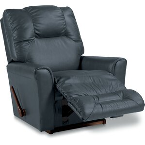 Easton Leather Rocker Recliner by La-Z-Boy