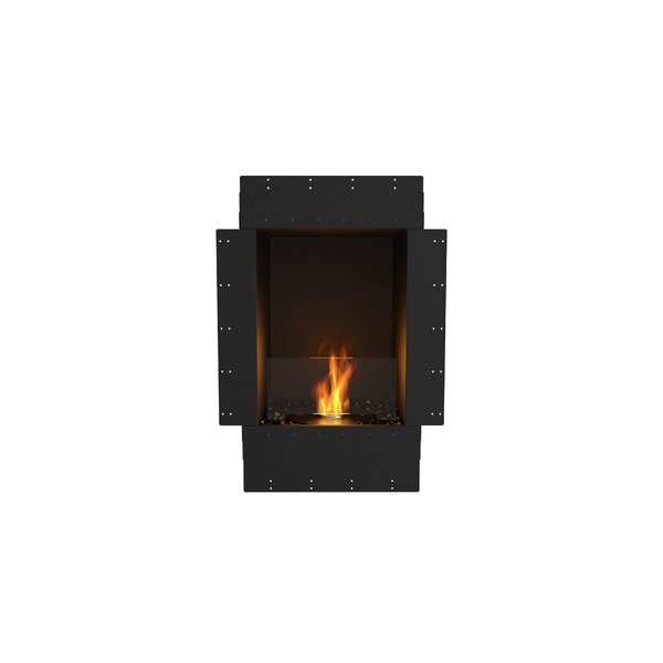 Flex Single Sided Recessed Wall Mounted Bio-Ethanol Fireplace by EcoSmart Fire
