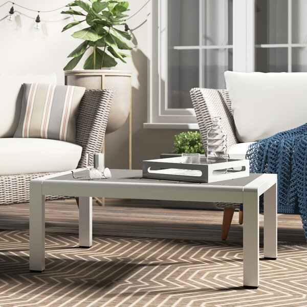Metal Coffee Table by Orren Ellis
