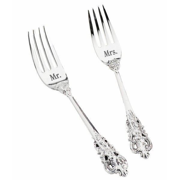 Mr. and Mrs. Silver Fork Set by Lillian Rose