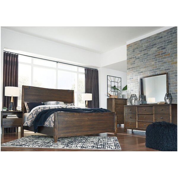 Jazlynn Panel Headboard by Millwood Pines