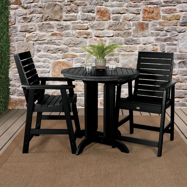 Deerpark 3 Piece Bistro Set