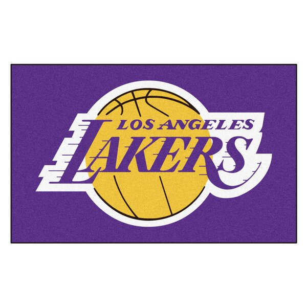 Nba - Los Angeles Lakers Doormat By Fanmats.