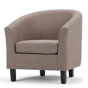 Affordable Austin Barrel Chair BySimpli Home