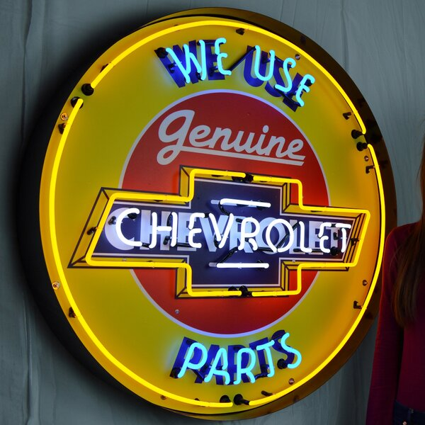 Chevrolet Neon Sign by Neonetics
