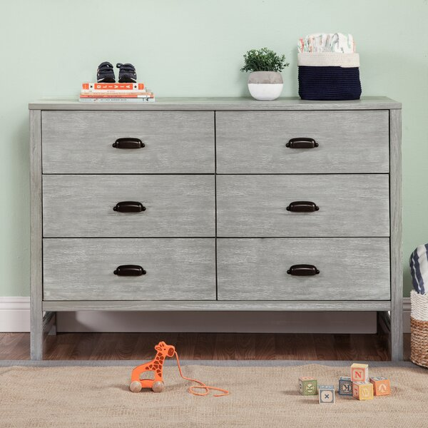 Fairway 6 Drawer Double Dresser by DaVinci