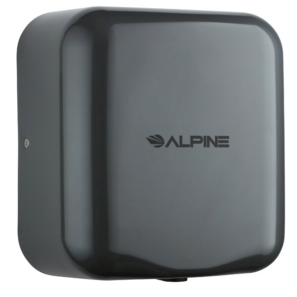 Hemlock 120 Volt Hand Dryer in Gray by Alpine Industries