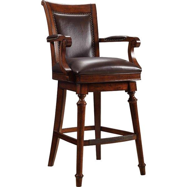 Merlot 31 Swivel Bar Stool by Hooker Furniture