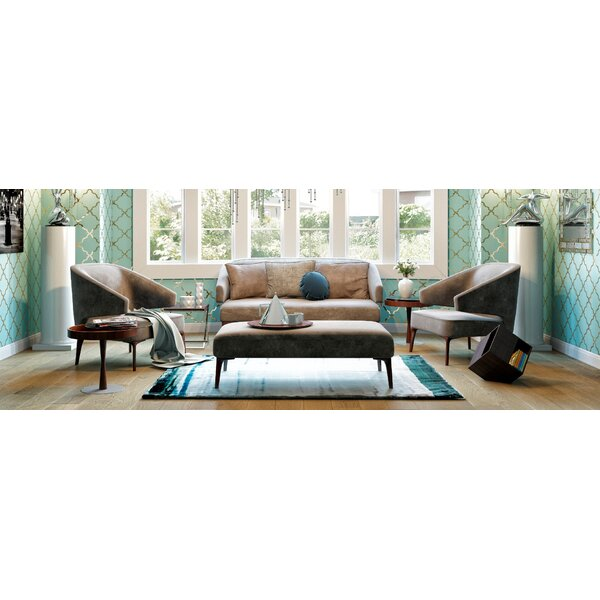 Burton Latimer 4 Piece Living Room Set by Mercer41