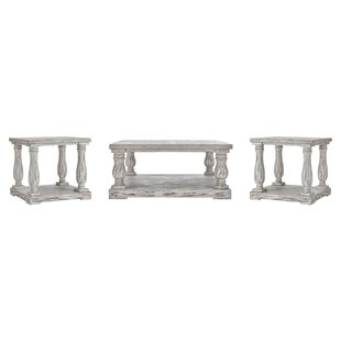 Reviews Airelle 3 Piece Coffee Table Set By Lark Manor