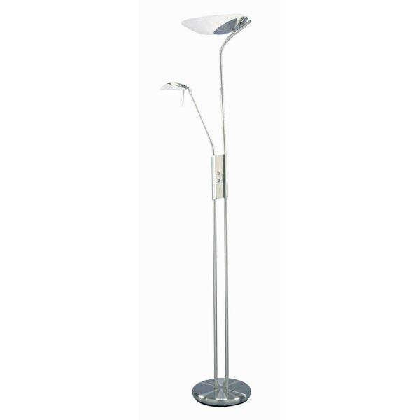 Lynch 70 Torchiere Floor Lamp by Latitude Run