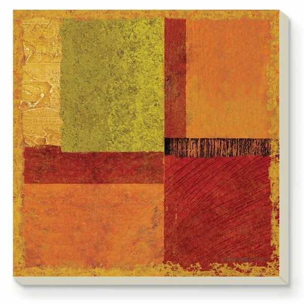 Harmony Absorbent Stone Coaster (Set of 4) by CounterArt